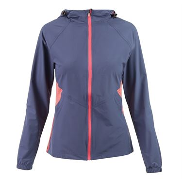 Lija Spring Twilight Utility Jacket - Dusk/Guava