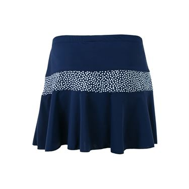 Jerdog Confetti New Marrowed Skirt - Navy/Confetti Print