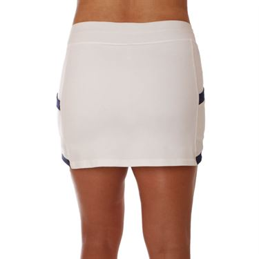 Sofibella Amunet Panel 14 Inch Skirt - White