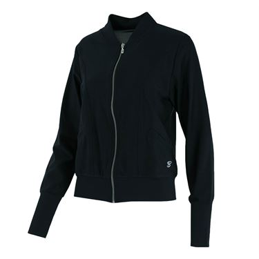 Sofibella Melbourne Tailored Bomber Jacket - Black