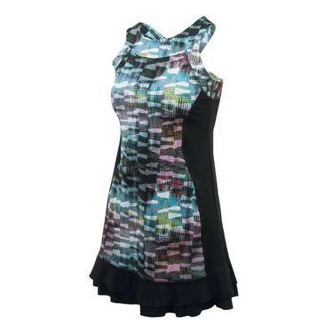 Sofibella Madrid Steady Dress - Matrix Print
