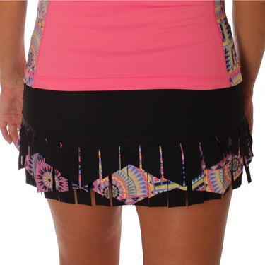 Sofibella Electra Warrior 13 Inch Skirt - Black