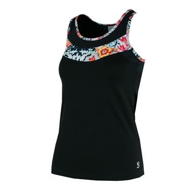 Sofibella Melbourne Current Tank - Black