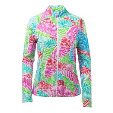 Ibkul Marley Knit Jacket - Pink Multi