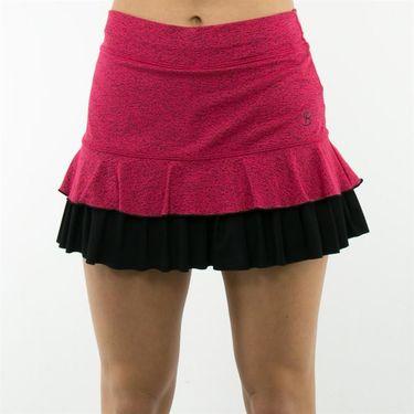 Sofibella Dubai Plus Size Scribe 14 Inch Skirt - Electro Pop
