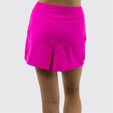 Jerdog On the Spot A Line Skirt - Fuchsia
