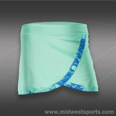 Jerdog Lov All Front Wrap Skirt-Mint Tie Dye