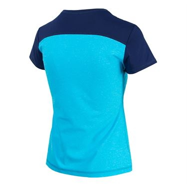 Sofibella London Fate Short Sleeve Top - Portofino Blue