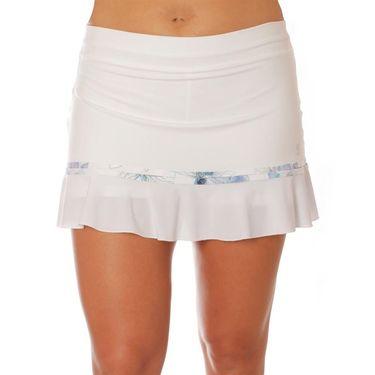 Sofibella Harmonia Link 13 Inch Skirt - White