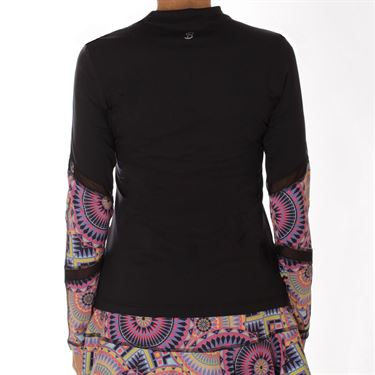 Sofibella Electra Dual Long Sleeve Top - Black