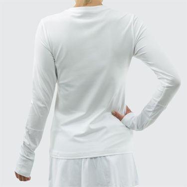 Sofibella Athena Alley Long Sleeve Top - White