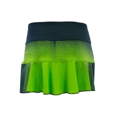 Jerdog Draw the Line Swing Skirt - Navy/Green