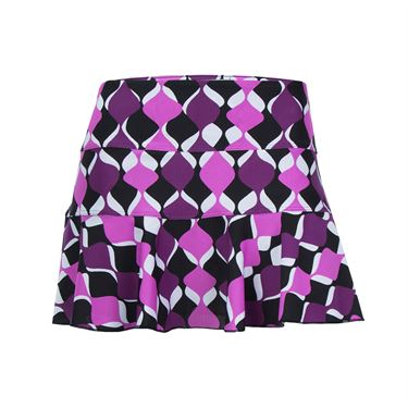 Jerdog Spin Off Swing Skirt - Print