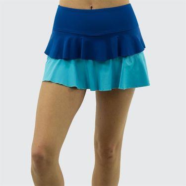 Jerdog Crystal Vision On the Line Skirt - Teal/Aqua