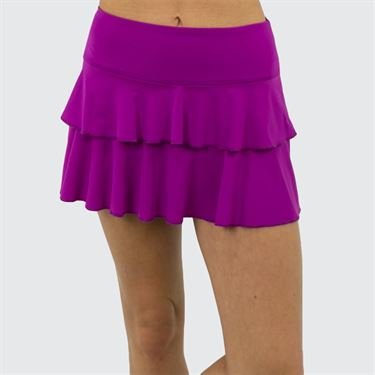 Jerdog Hidden Charms On the Line Skirt - Berry