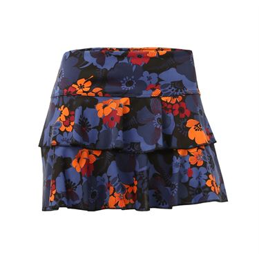 Jerdog Lucky Penny On the Line Skirt - Floral Print