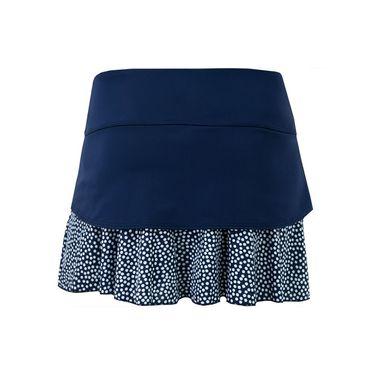 Jerdog Confetti New Swing Skirt - Navy