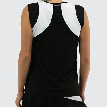 Sofibella Ravello Sleeveless Top Plus Size Womens Black 1863 BLKP