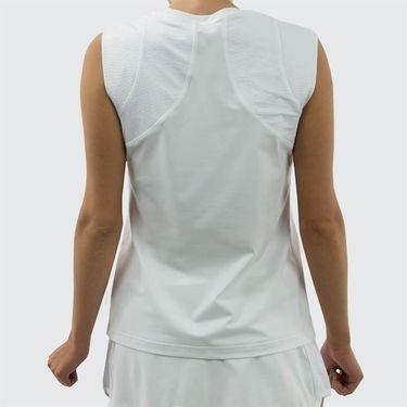 Sofibella Athena Fore Plus Size Sleeveless Top - White