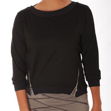 Sofibella Electra 3/4 Sleeve Pullover - Black
