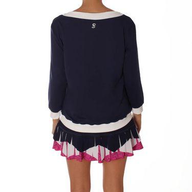 Sofibella Amunet Long Sleeve Pullover - Navy