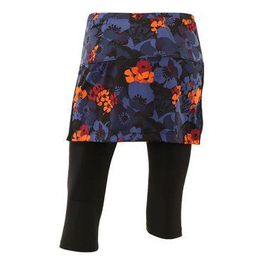Jerdog Lucky Penny Power Skirt w/Legging - Floral Print/Black