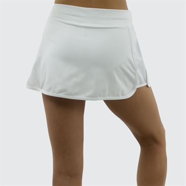 Sofibella Athena Race 12 Inch Skirt - White