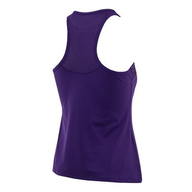 Lija Fair And Square Elite Angle Top - Boysenberry/Dark Geo Print