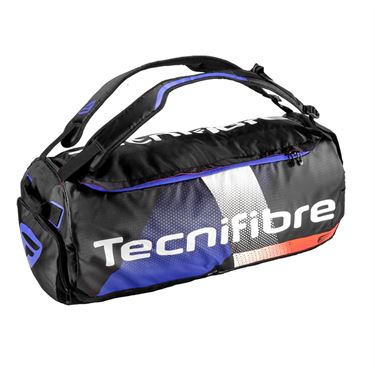 Tecnifibre Air Endurance Rack Pack Pro Tennis Bag - Black/White/Blue/Red
