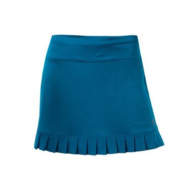 Lija Desert Bloom Control Skirt - Turquoise