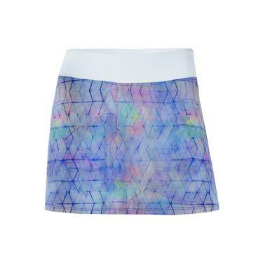 Lija Malibu Retreat Baseline Skirt - Shibori Print