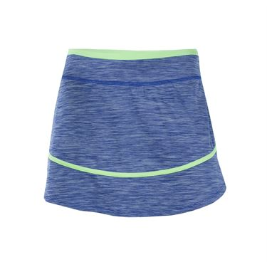 Lija Malibu Retreat Sharp Skirt - Royal Blue/Paradise Green