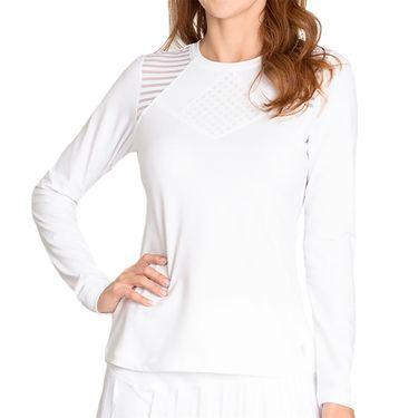 Sofibella Sorrento Long Sleeve Top - White