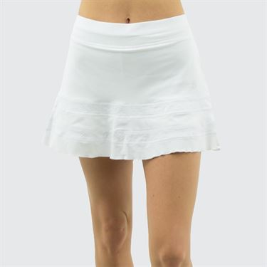 Sofibella Positano 14 inch Skirt Plus Size - White
