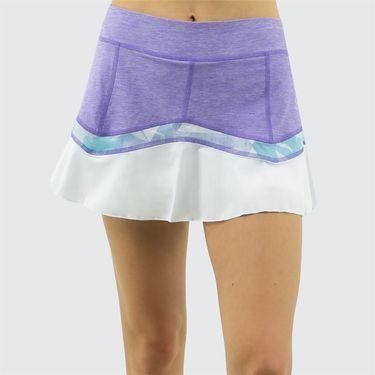 Sofibella Capri 13 inch Skirt - Viola Melange
