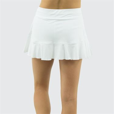 Sofibella Positano 13 inch Skirt - White