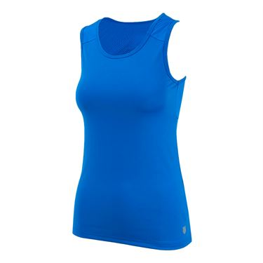 K Swiss Club Tank - Royal Blue