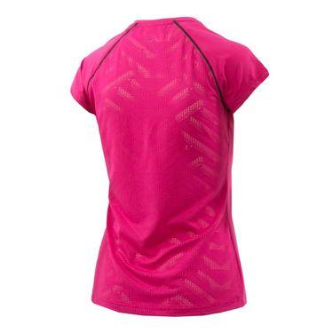 K Swiss Hypercourt Express Tee - Pink Yarrow