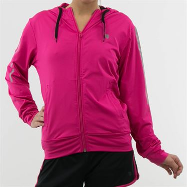 K Swiss Hypercourt Express Jacket - Pink Yarrow