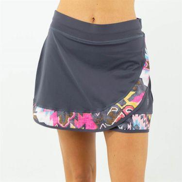 Sofibella Amalfi 15 inch Skirt Plus Size Womens Grey 1933 GRYP