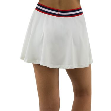 K Swiss Heritage Sport Pleated Skirt Womens White 194220 100