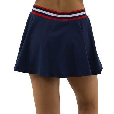 K Swiss Heritage Sport Pleated Skirt Womens Navy 194220 400