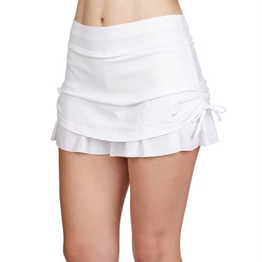 Sofibella Club Lux 12 inch Skirt Womens White 1956 WHT