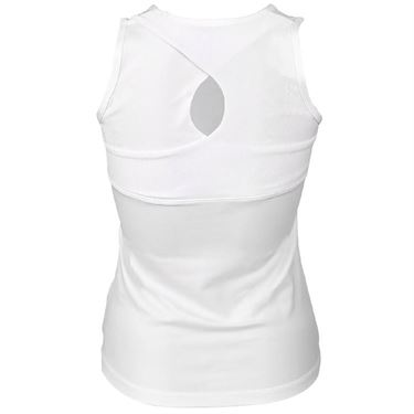 Sofibella Club Lux High Neck Tank Womens White/Diamond 1960 WHT
