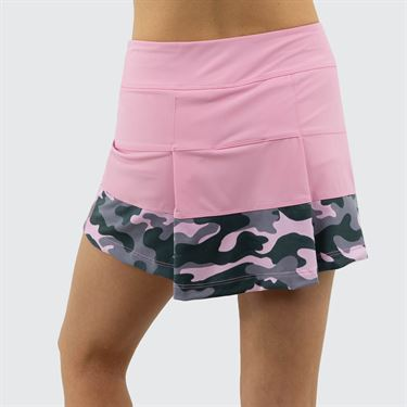 Jerdog Cloud Nine All Spin Skirt Womens Pink/Camo Print 19664 CN1