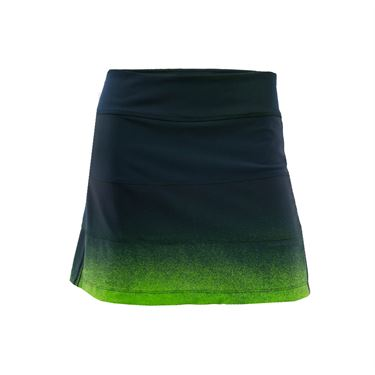 Jerdog Draw the Line All Spin Skirt - Navy/Green