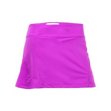 Jerdog Orchid Dream Back Pleat Skirt - Orchid