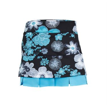Jerdog Tropic Mist Doubles Skirt - Print/Turquoise