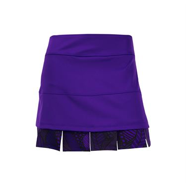 Jerdog Ruby Row Doubles Skirt - Purple Print