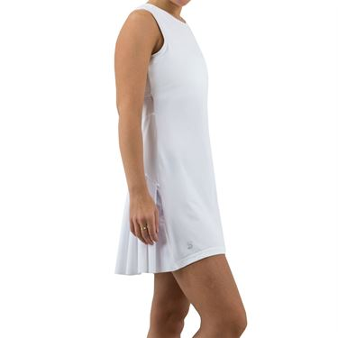 Sofibella Club Lux Dress Womens White/Diamond 1970 WHT